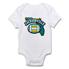 Jacksonville Football Infant Bodysuit