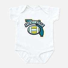 Jacksonville Football Infant Bodysuit
