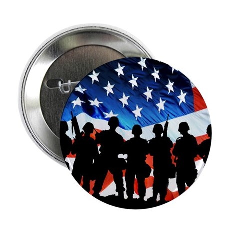 """Support Our Troops 2.25"""" Button (100 pack)"""