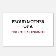 Proud Mother Of A STRUCTURAL ENGINEER Postcards (P