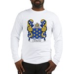Clemente Family Crest Long Sleeve T-Shirt
