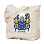 Clemente Family Crest Tote Bag