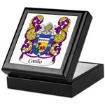 Coelho Family Crest Keepsake Box