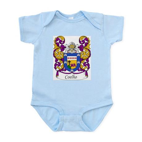 Coelho Family Crest Infant Creeper