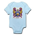 Coelho Family Crest Infant Creeper