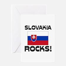 Slovakia Rocks! Greeting Card