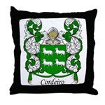 Cordeiro Family Crest Throw Pillow