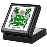 Cordeiro Family Crest Keepsake Box