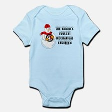 Coolest Mechanical Engineer Infant Bodysuit