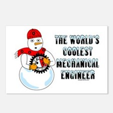 Coolest Mechanical Engineer Postcards (Package of