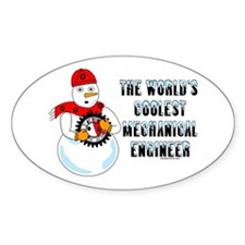 Coolest Mechanical Engineer Decal