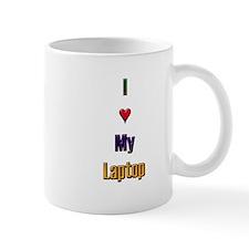 I Love My Laptop Mug