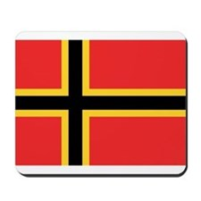 German Resistance Flag Mousepad