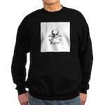 Knitter - Crafty Pirate Skull Sweatshirt (dark)