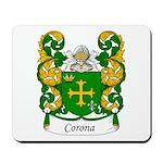 Corona Family Crest Mousepad