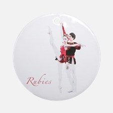 Rubies Ornament (Round)