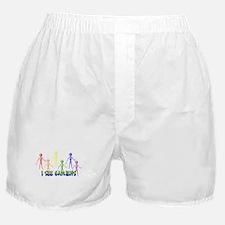 i see gayliens Boxer Shorts