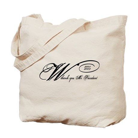 Thank You Mr. President: Geor Tote Bag