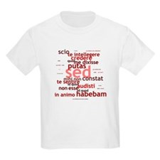 Not What I Meant (Latin) Kids T-Shirt