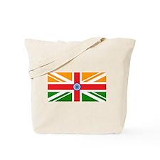 Anglo Indian Flag Tote Bag