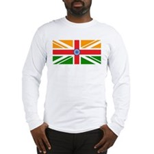Anglo Indian Flag Long Sleeve T-Shirt