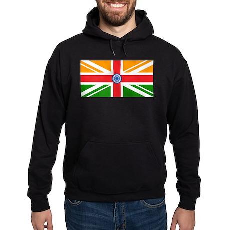 Anglo Indian Flag Hoodie (dark)