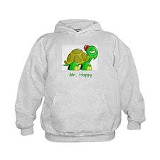 Mr. Happy cartoon turtle Hoodie