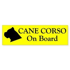 Cane Corso On Board Bumper Bumper Sticker