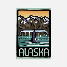 Alaska Pride! Rectangle Magnet