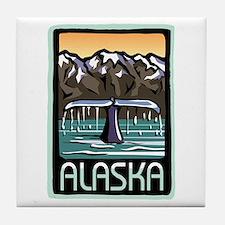 Alaska Pride! Tile Coaster