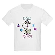 Little Diva Cat T-Shirt