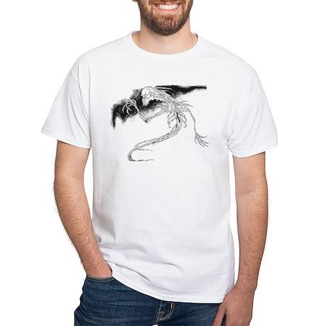"""""""Specter"""" White T-Shirt"""