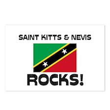 Saint Kitts & Nevis Rocks! Postcards (Package of 8
