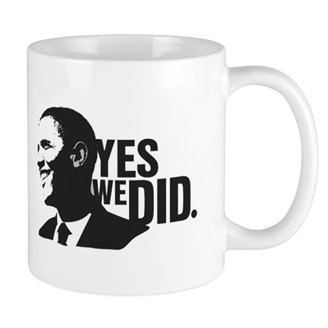 Yes We Did! Mug
