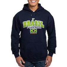 Brasil Futebol/Brazil Soccer/Football Hoodie