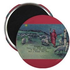 1910 Shepherds and Star Magnet