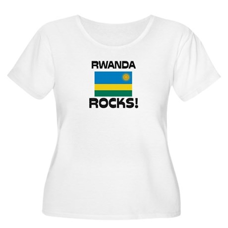 Rwanda Rocks! Women's Plus Size Scoop Neck T-Shirt