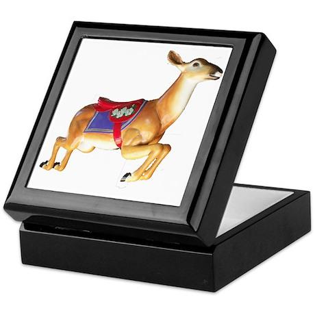 carousel deer Keepsake Box