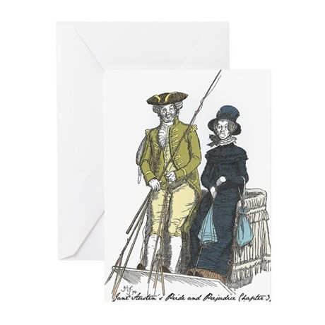 Pride & Prejudice Ch 37 Greeting Cards (Pk of 10)