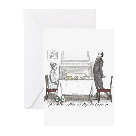 Pride & Prejudice Ch 38 Greeting Cards (Pk of 10)