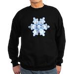 Flurry Snowflake I Sweatshirt (dark)