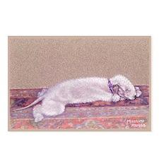 Bedlington-Sweet Dreams Postcards (Package of 8)