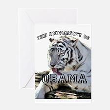 The University of Obama Zoolo Greeting Card