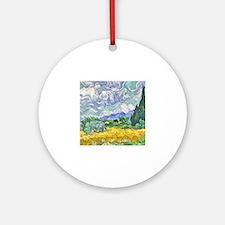 Unique Vincent Round Ornament