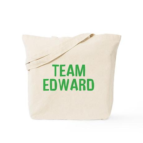 Team Edward (Green) Tote Bag