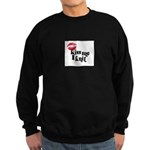 Kiss Me I Knit Sweatshirt (dark)
