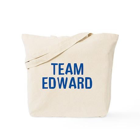 Team Edward (Dark Blue) Tote Bag