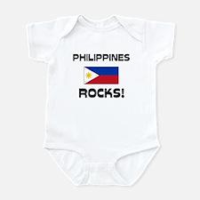 Philippines Rocks! Infant Bodysuit