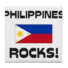 Philippines Rocks! Tile Coaster