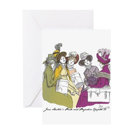 Pride & Prejudice Ch 39 Greeting Card